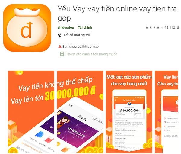 app Yêu Vay